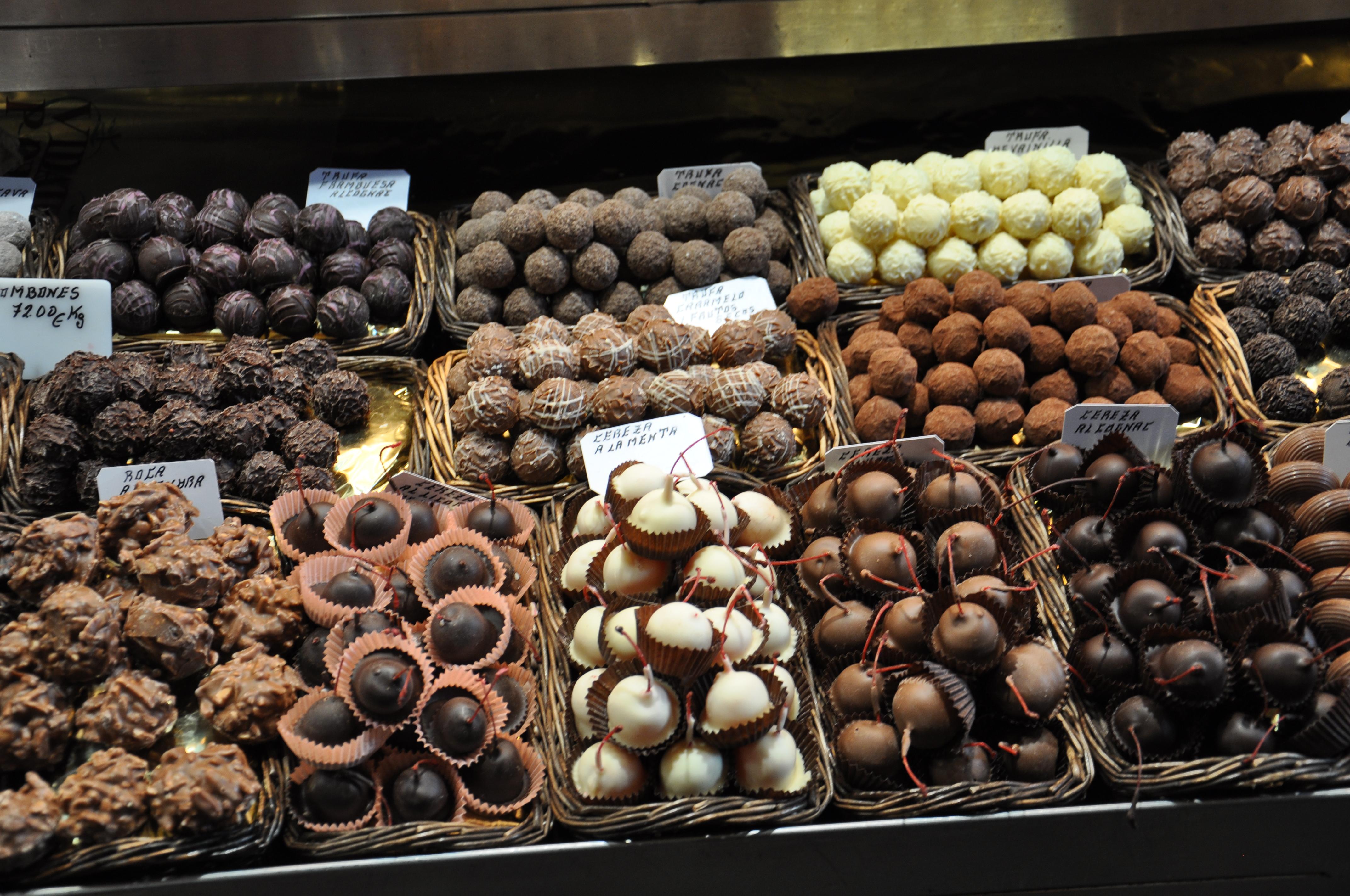 שוקולדים בעבודת יד