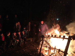 2nd otley scout camp fire