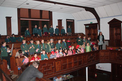 members of 2nd otley scouts