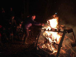 2nd otley scout campfire