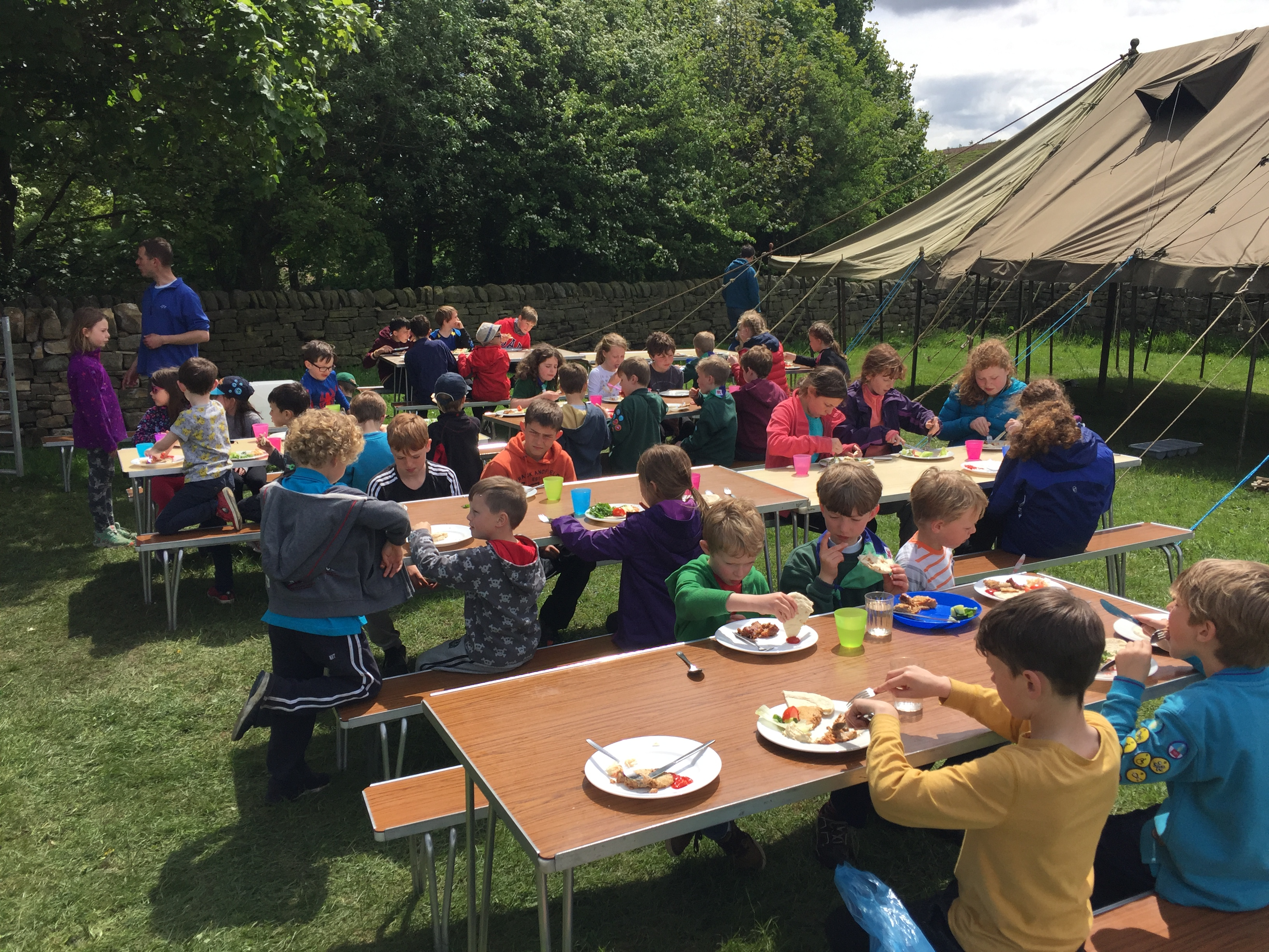 2nd otley group camp 2017