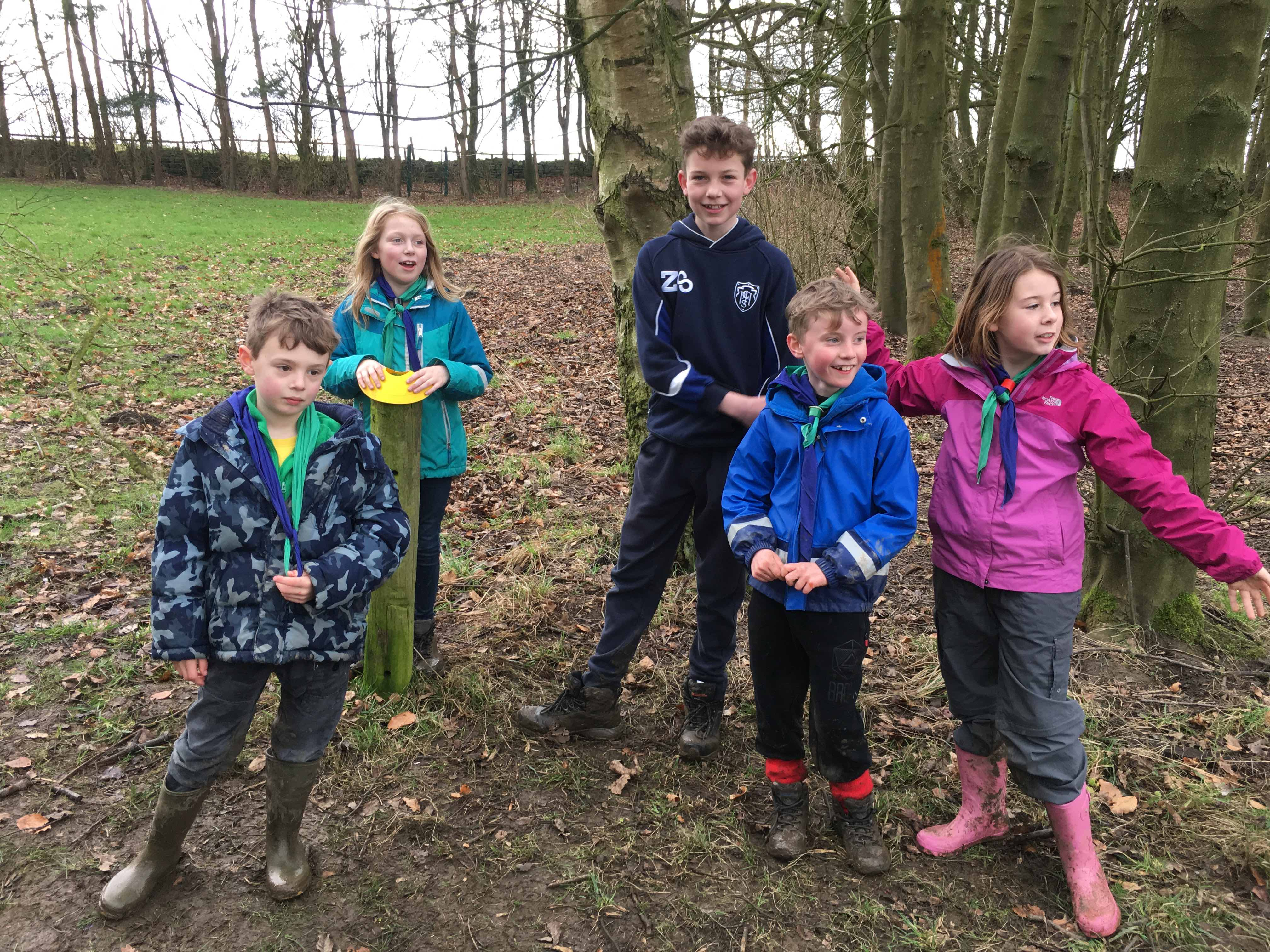 2nd otley cubs - tired but happy