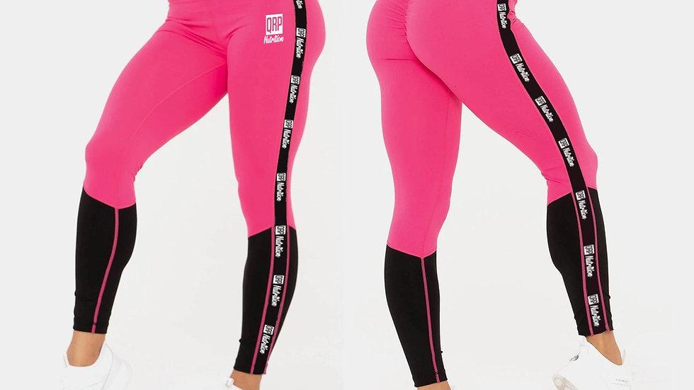 QRP Nutrition Pink&Black leggins