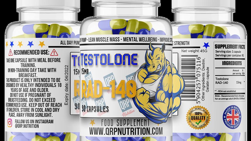 QRP Nutrition Rad-140 Testolone 15mg