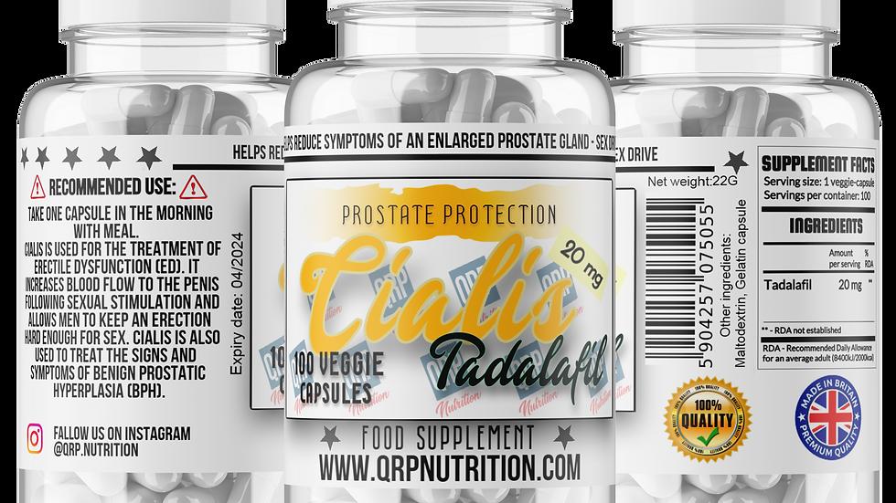 QRP Nutrition CIALIS Tadalafil