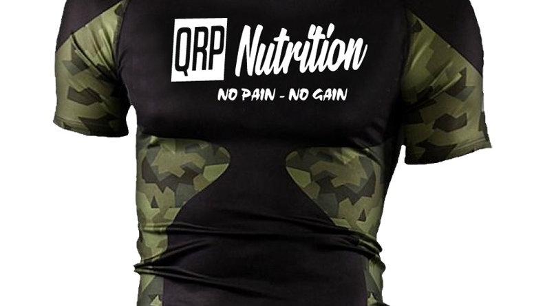 QRP Nutrition Camo Rashguard
