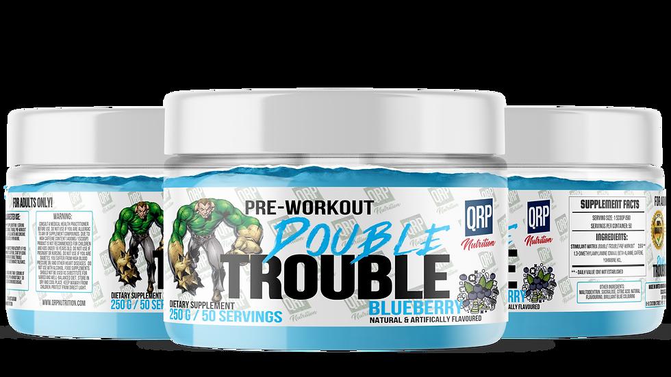 QRP Nutrition Double Trouble pre-workout