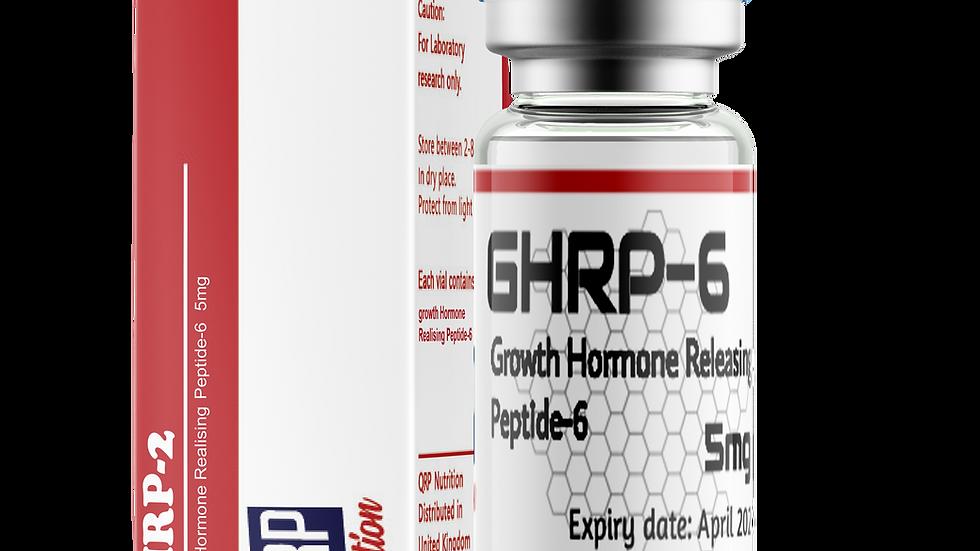 QRP Nutrition GHRP6 5mg