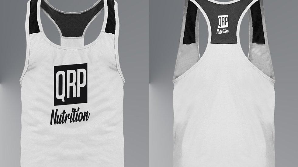 QRP Nutrition White Gym Vest