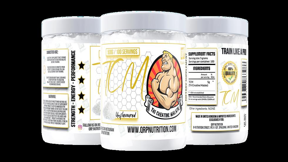 QRP Nutrition TCM (TriCreatineMalate) 500g