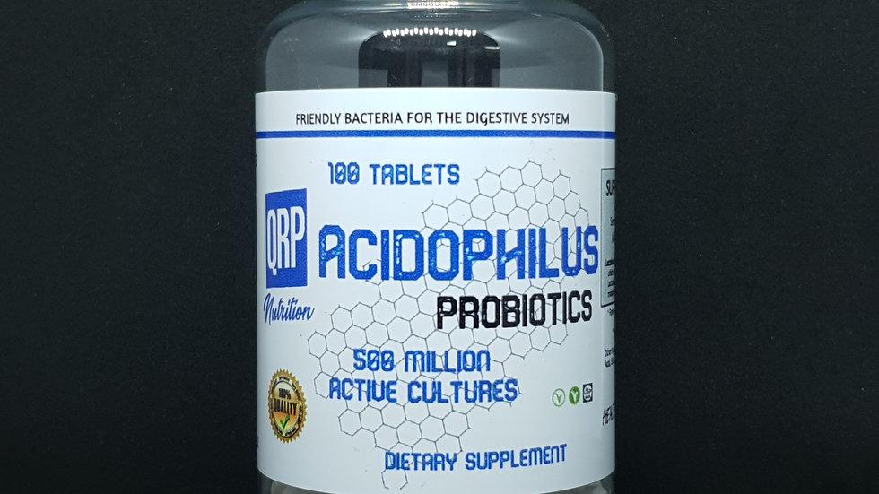 QRP Nutrition Acidophilus Probiotics (100tabs)