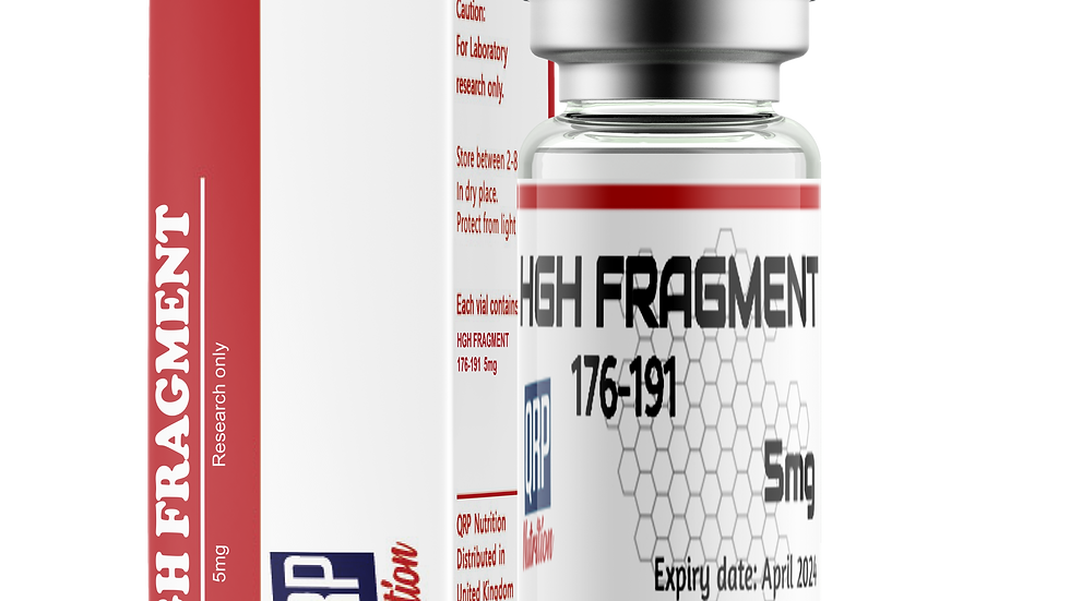 QRP Nutrition HGH Fragment 176-191 5mg