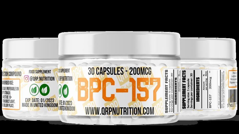 QRP Nutrition BPC-157 200mcg 30capsules