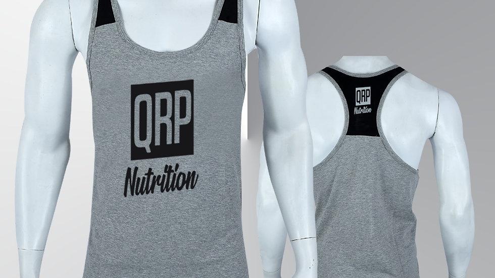 QRP Nutrition Grey Gym Vest