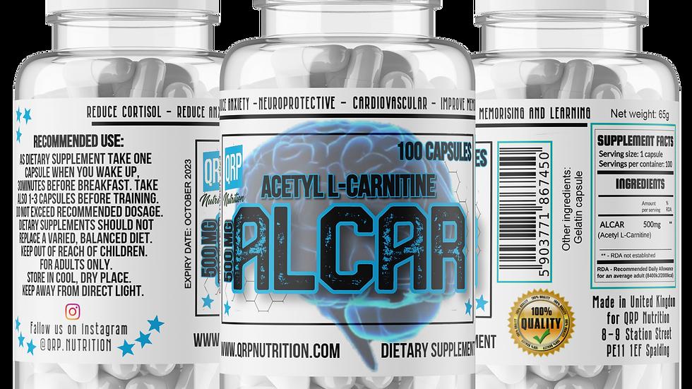 QRP Nutrition ALCAR 500mg 100 capsules