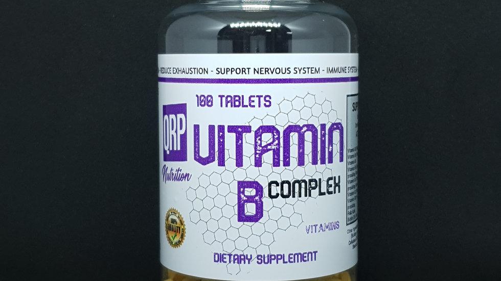 QRP Nutrition Vitamin B Complex (100tablets)
