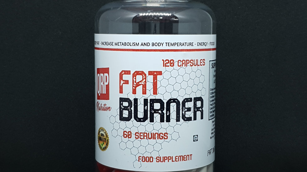 QRP Nutrition FAT BURNER (120capsules)