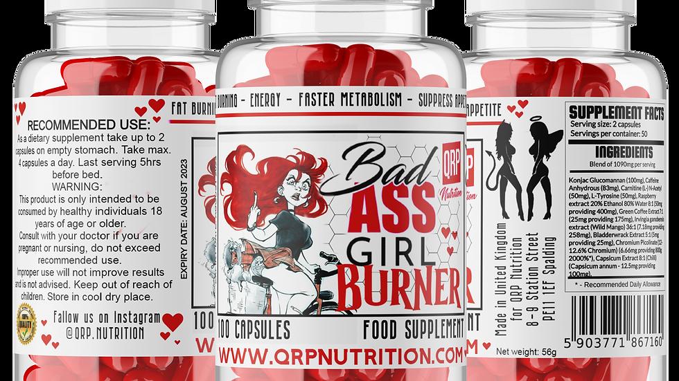 QRP Nutrition Bad Ass Girl Burner (100caps)