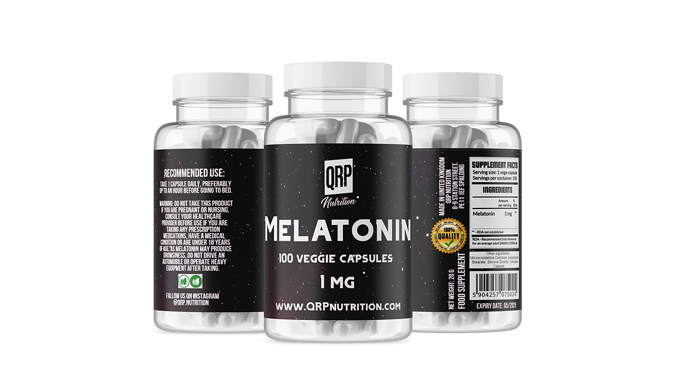 QRP Nutrition MELATONIN 100vcaps