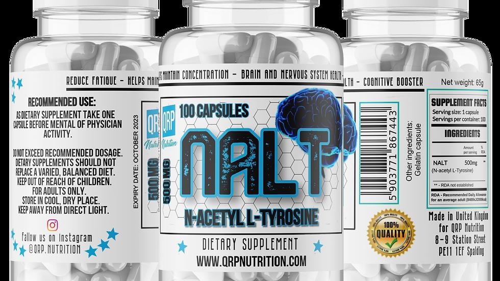 QRP Nutrition NALT (N-Acetyl L-Tyrosine) 500mg