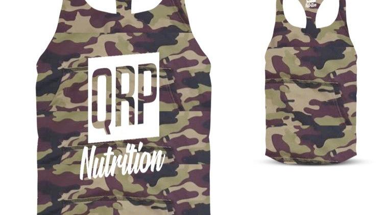 QRP Nutrition Camo Gym Vest