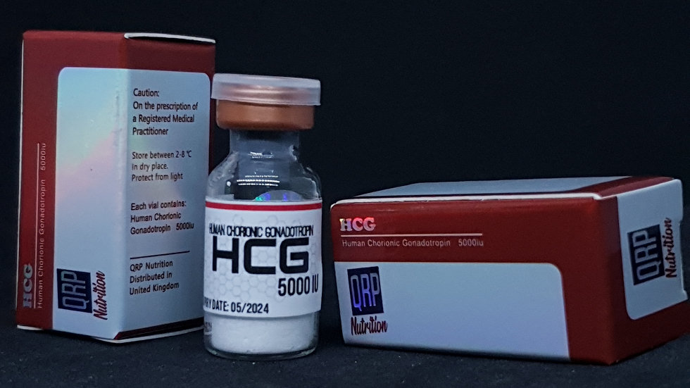 QRP Nutrition HCG (Human chorionic gonadotropin) 5000iu