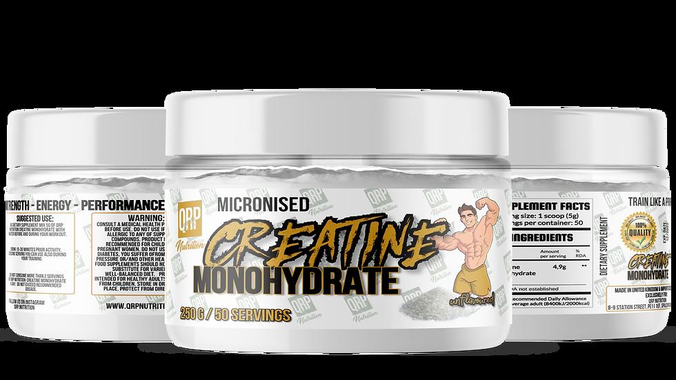 QRP Nutrition Creatine Monohydrate (250g/500g)
