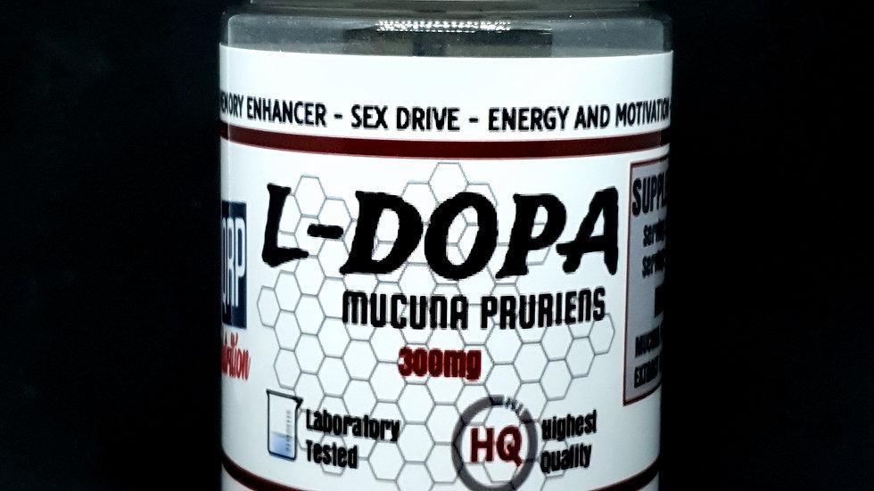 QRP Nutrition L-Dopa Mucuna Pruriens (90caps)