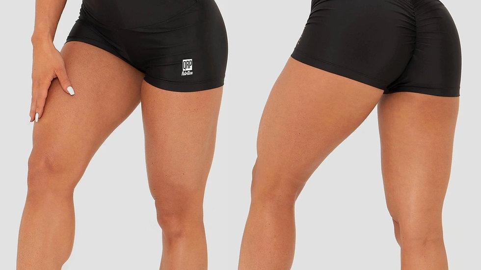 QRP Nutrition Bad Ass Girl Black shorts