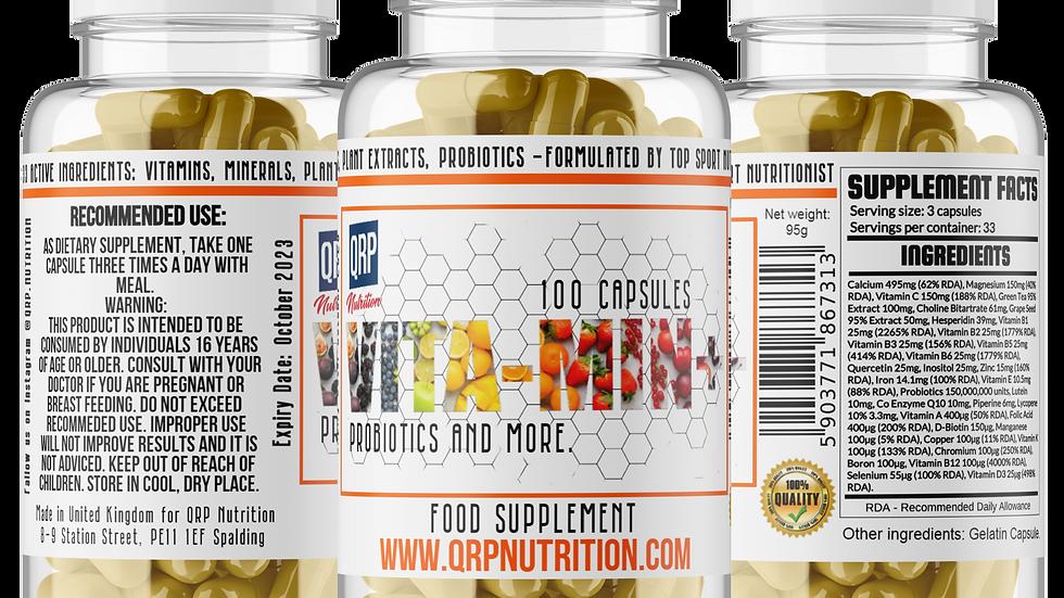 QRP Nutrition VITA-MIN+ (probiotics, antioxidants)