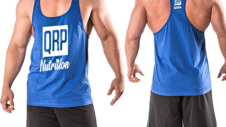 QRP Nutrition Blue Gym Vest