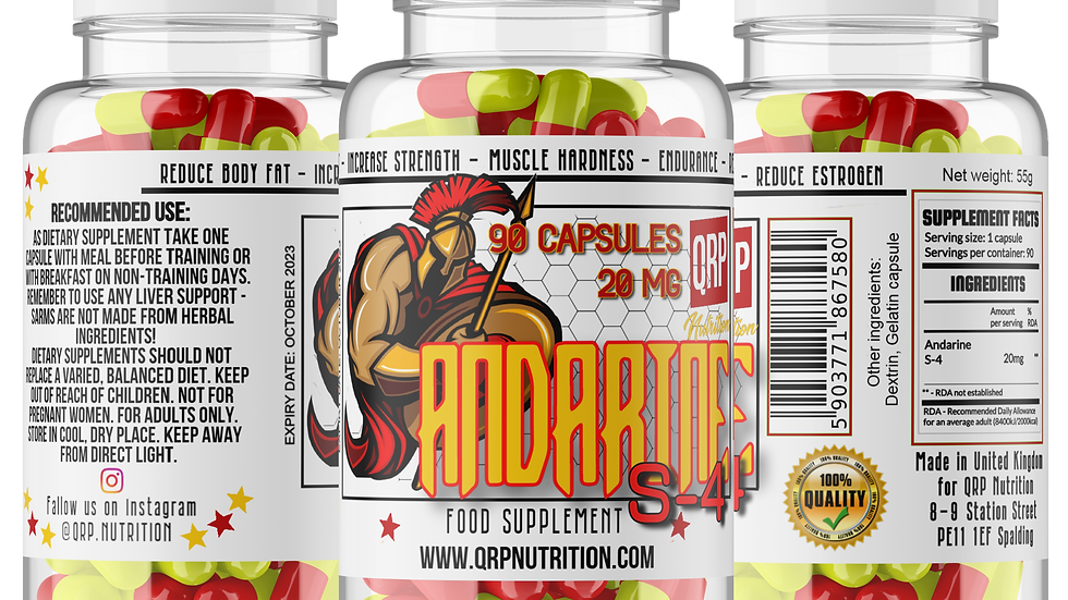 QRP Nutrition S-4 Andarine 20mg