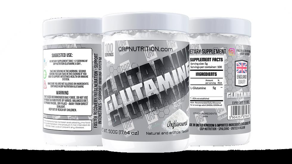 QRP Nutrition GLUTAMINE 500g