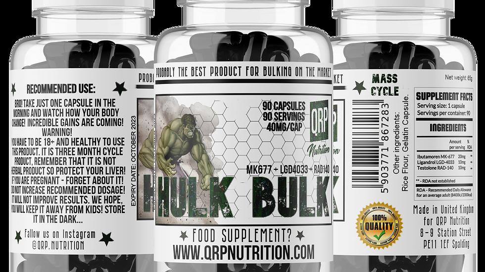 QRP Nutrition HULK BULK 40mg 90capsules