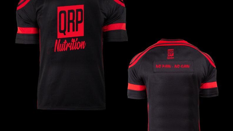 QRP Nutrition NO PAIN NO GAIN Gym T-shirt