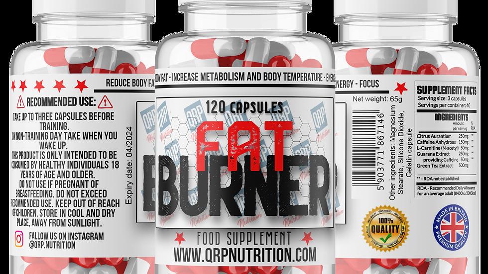 QRP Nutrition FAT BURNER (120capsules)