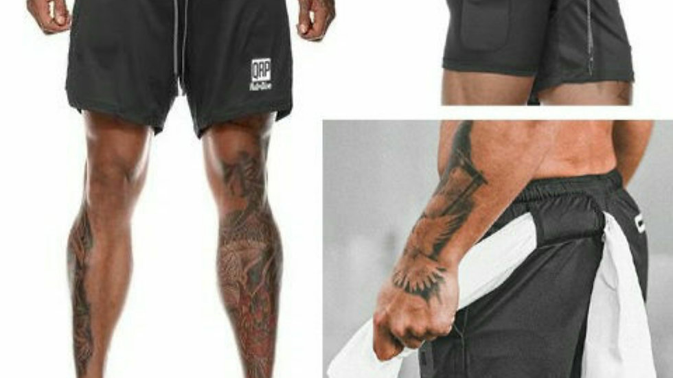 QRP Nutrition Double Gym Shorts