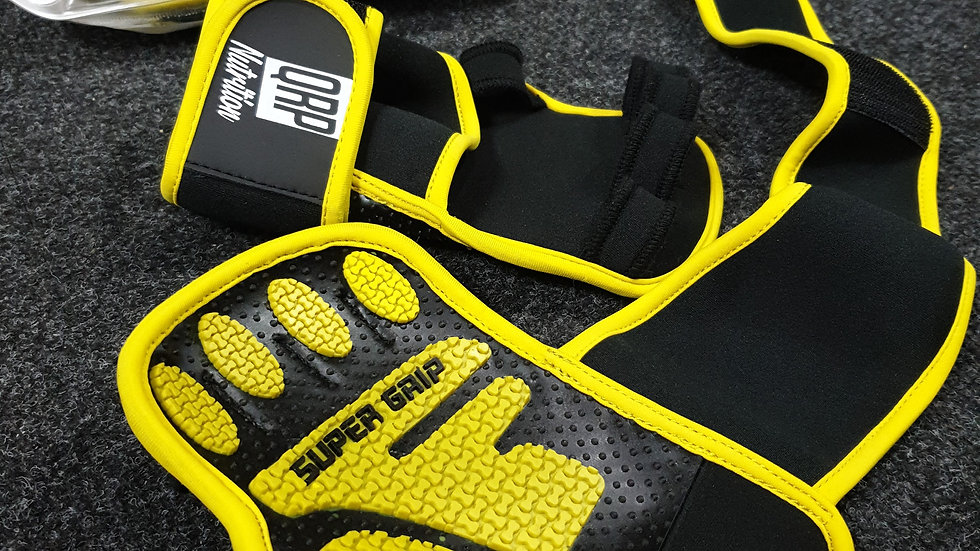 QRP Nutrition Gym Gloves - grips