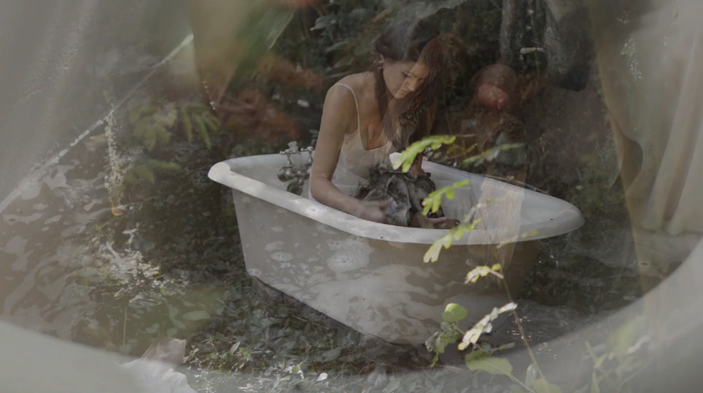 Renascent I (Bathing), 2018