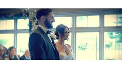bride & groom prepare to say vows