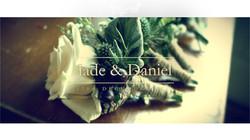 Jade and Daniel wedding title