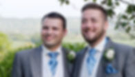 groom and best man in suits