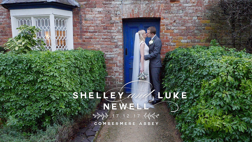 Wedding Video from the Combemere Abbey, Cheshire