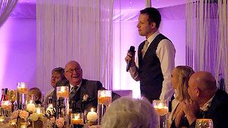 Groom Speech at Wedding