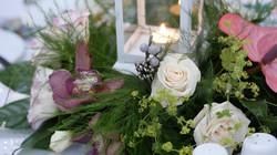 Table arrangements Malta wedding