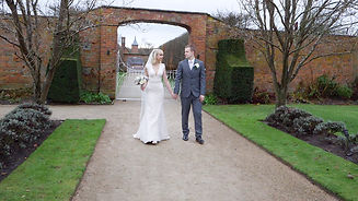 Cheshire Wedding Video Bride and Groom
