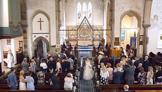 Accrington Church wedding video