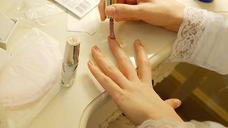 Bridal Preparation,Nail Polish
