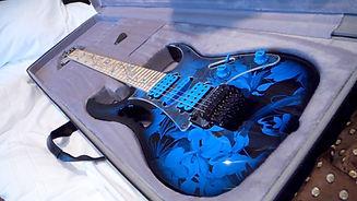 Groom's wedding gift: Guitar