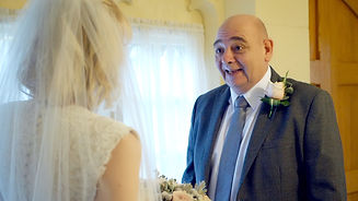 Father of the bride, wedding video Cheshire